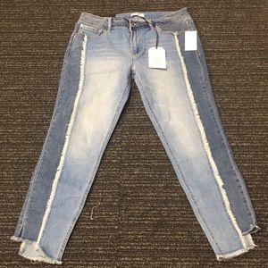 Kensie 2-Tone Skinny Jean
